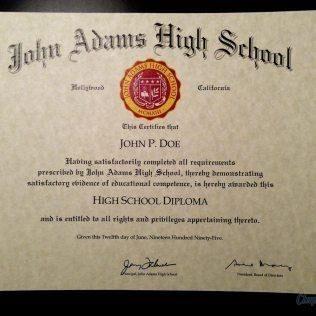 Diploma Template 14