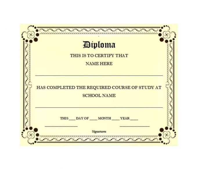 free certificate download