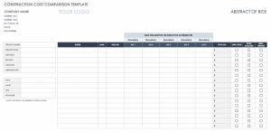 free Cost Benefit Analysis Template