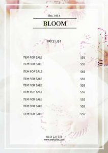free price list rights reserved easy email
