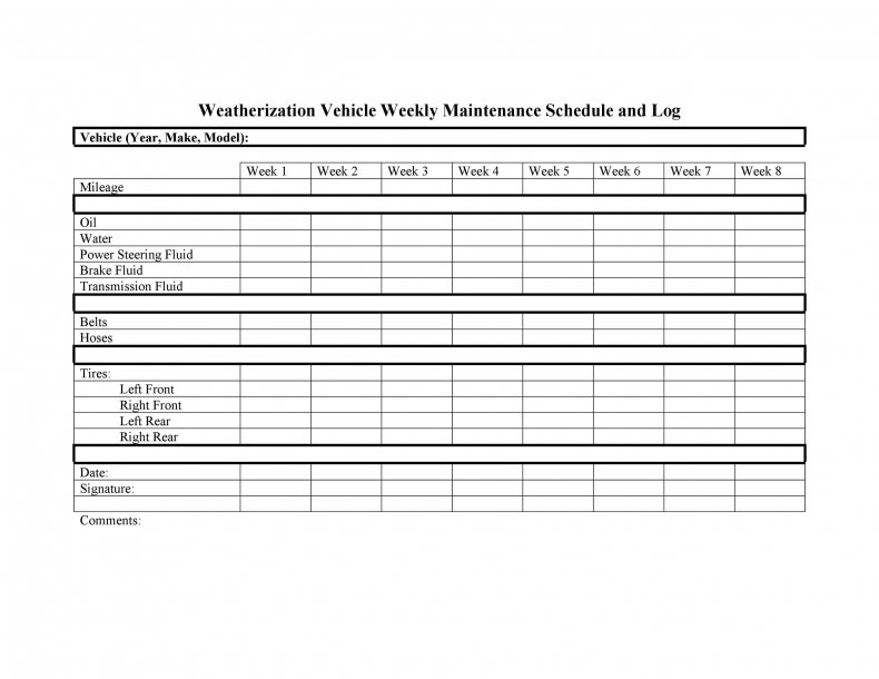 you may track and keep record of work car with vehicle maintenance log